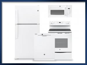 PACKAGE - White   Electric Range