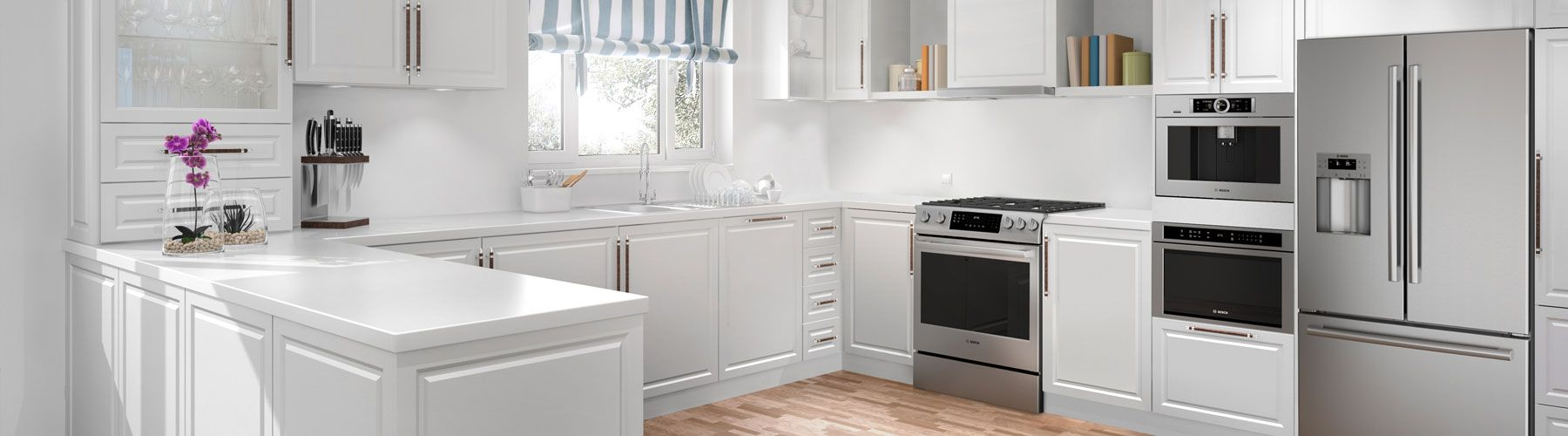 Bosch Lifestyle Kitchen Range and Dishwasher